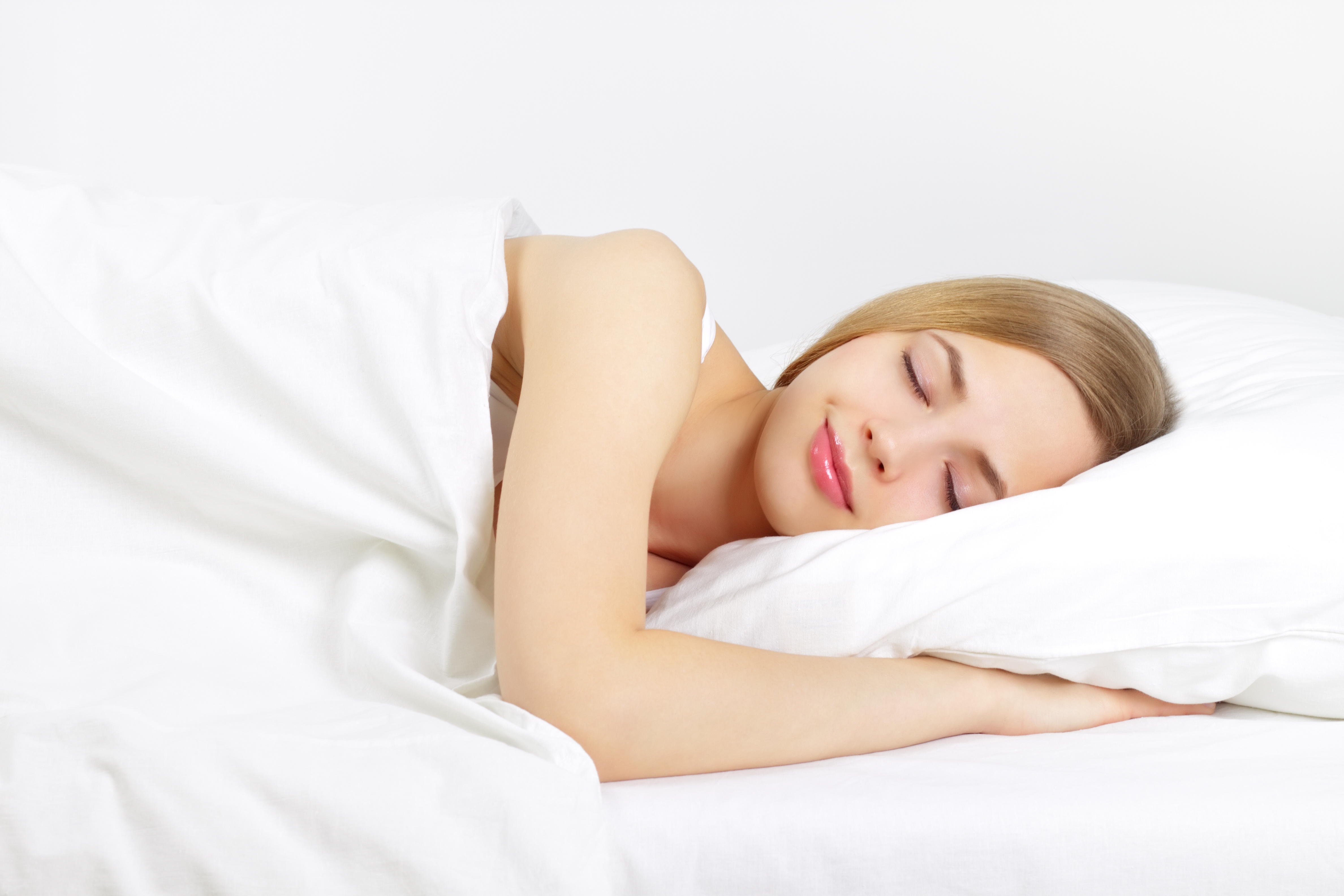 睡眠は髪に良い